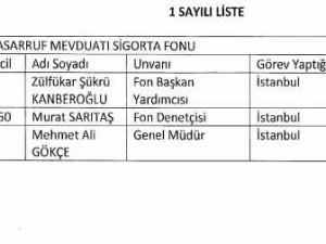 Yeni KHK ile görevden alınan memurların tam listesi