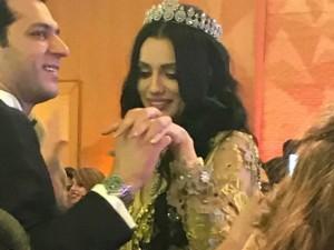 Murat Yıldırım ile İmane Elbani Fas'ta ikinci düğünü yaptı! İşte mu