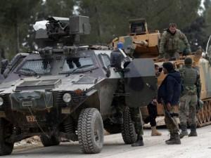 Türk askeri o köye girdi