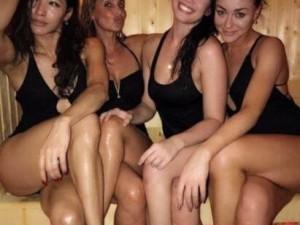 Güzellerin çılgın spa partisi