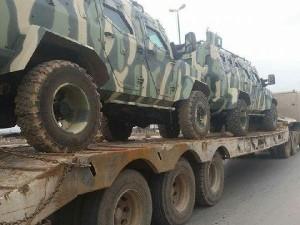 ABD'nin verdiği zırhlı araçlar PYD'ye ulaştı