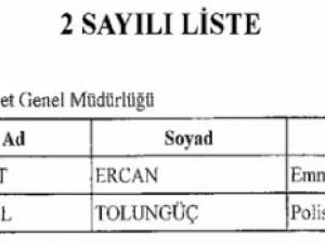 Yeni KHK ile göreve iade edilenlerin tam listesi