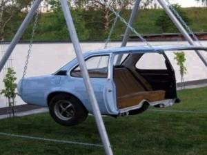 Eski araba parçalarından öyle şeyler yaptılar ki...