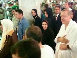 Cumhurbaşkanı Erdoğan umre yaptı