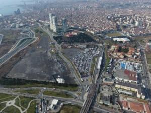İstanbulların beklediği proje havadan görüntülendi