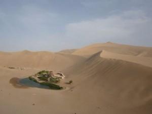 Çin'in ortasında uçsuz bucaksız bir yer