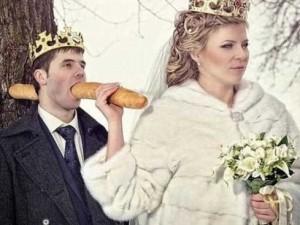 Rusların evlilikten soğutan düğün fotoğrafları