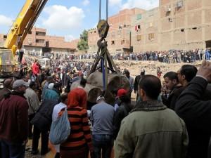 Mısır'da bulunan firavun heykeli için müthiş iddia