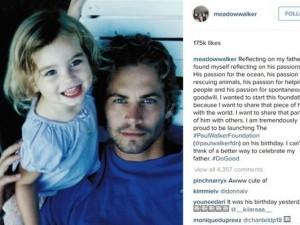 Paul Walker'ın kızı büyüdü
