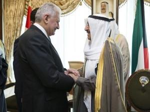 Başbakan Yıldırım, Kuveyt emiri ile görüştü
