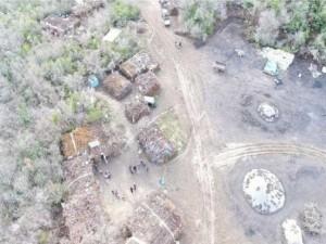 Drone ile PKK yandaşlarına operasyon