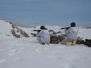Erzincan'da PKK'nın inleri imha edildi