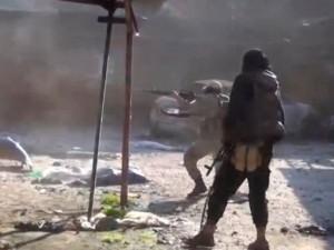 DEAŞ'lı teröristler böyle görüntülendi