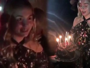 Aleyna Tilki 17 yaşına bastı
