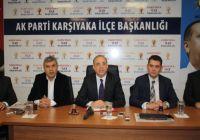 Ak Parti Karşıyaka İlçe Başkanı Kerem Ali Sürekli: