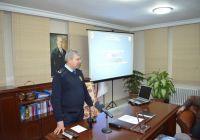 İlçe Emniyet Müdürlüğü Esnafla Huzur Toplantısı Yaptı
