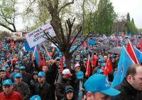 Türk Metal işçilerinden MESS'e protesto yürüyüşü