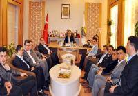 BİRSİAD üyesi iş adamları İnegöl Belediye Başkanı Aktaşı ziyaret etti