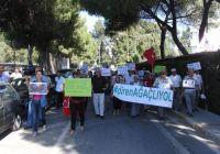 İzmirde Diren Ağaçlı Yol Eylemi