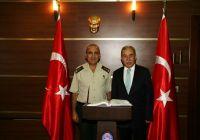 Jandarma Bölge Komutanı Özkara Vali Büyük'ü Ziyaret Etti