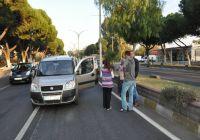 Nazillide Zincirleme Trafik Kazası; 2 Yaralı