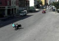 Eskişehirdeki Kazalar Mobese Kameralarında