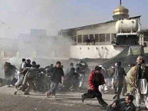 Camiye hain saldırı !