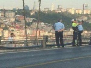 Polisten intihar eylemcisiyle selfie