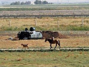 Suriye sınırında çatışma: 1 ölü, 1 yaralı