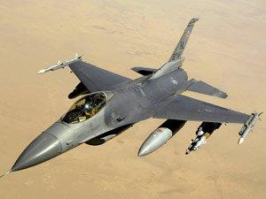 Diyarbakır'da F-16 uçağı düştü !