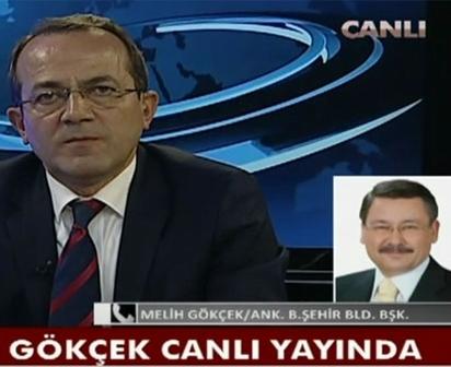 Melih Gökçek Halk TV'ye çıktı, ortalık karıştı!