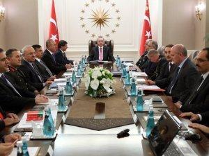 Erdoğan kurmaylarını topladı