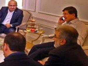 Başbakan Davutoğlu'nun haberi aldığı an