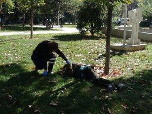 Gezi Parkı'nda ceset şoku !
