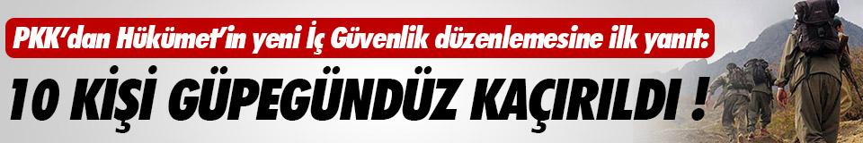 Diyarbakır'da 10 kişi kaçırıldı !