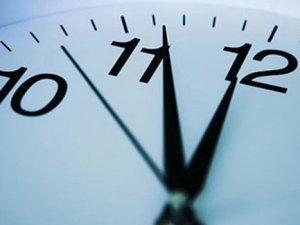 Dikkat ! Mesai saatleri değişiyor !