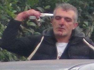 İSTANBUL'DA ŞOK: POLİSİN SİLAHINI ALDI POLİS SALDIRDI