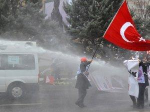 Ankara'da eylem gerginliği