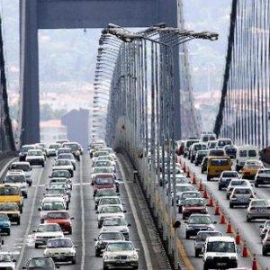 Trafik çilesi haftasonu da devam ediyor