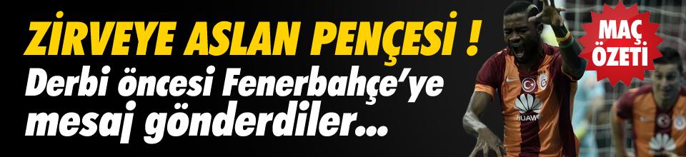 Galatasaray Kadıköy'e lider gidiyor !