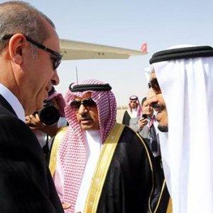 Erdoğan Kral ile anlaştı !