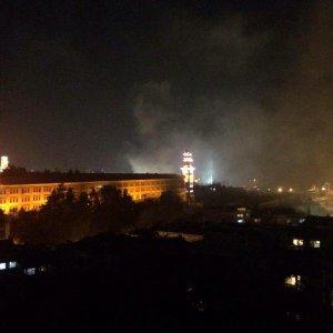 Selimiye Kışlası'nda yangın çıktı !