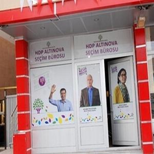 HDP'nin seçim ofisine silahlı saldırı
