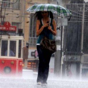 Marmara'ya yağış uyarısı !