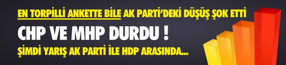 Son seçim anketlerinde yarış AK Parti ile HDP arasında !