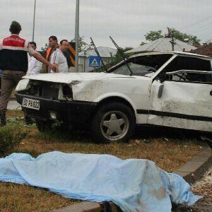 Samsun'da Kaza: 1 Ölü, 4 Yaralı