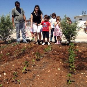 Didim Anaokulu Öğrencileri Organik Bahçe Oluşturdu haberi