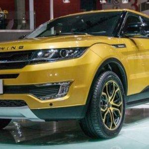 Çinliler bu kez Range Rover Evoque'u klonladı