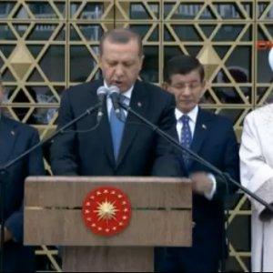 Açılışını Erdoğan yaptı ! İşte o caminin a