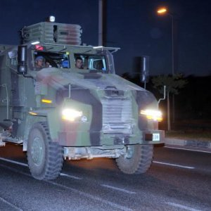 Profesyonel askerler Gaziantep'te